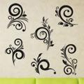 Samolepka na zeď Ornamenty z rostlin 042 (146445) - 1