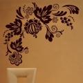 Samolepka na zeď Ornamenty z rostlin 017 (146421) - 1