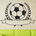Samolepka na zeď Fotbalový míč 001 (147311) - 1