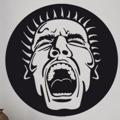 Samolepka na zeď Křik 001 (146224) - 1