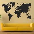 Samolepka na zeď Mapa světa 1230 (895970) - 1