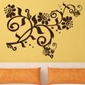 Samolepka na zeď Květiny 029 (146269) - 1