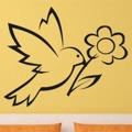 Samolepka na zeď Pták 017 (146525) - 1