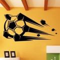 Samolepka na zeď Fotbalový míč 010 (147320) - 1