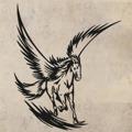 Samolepka na zeď Pegas 001 (146460) - 1