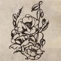 Samolepka na zeď Rostlina 017 (146545) - 1