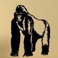 Samolepka na zeď Gorila 001 (146984) - 1