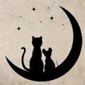 Samolepka na zeď Kočka a myš 0481 (576270) - 1