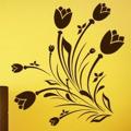 Samolepka na zeď Květiny 038 (146277) - 1