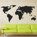 Samolepka na zeď Mapa světa 1229 (895969) - 1