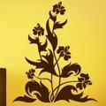 Samolepka na zeď Květiny 035 (146274) - 1