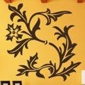 Samolepka na zeď Květiny 043 (146281) - 1