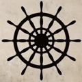 Samolepka na zeď Kormidlo 001 (147174) - 1