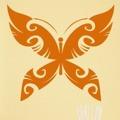 Samolepka na zeď Motýl 015 (146385) - 1