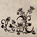 Samolepka na zeď Květiny 009 (146250) - 1
