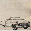 Samolepka na zeď Auto 004 (146065) - 1