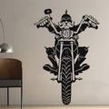 Samolepka na zeď Motorkar 001 (146375) - 1