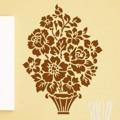 Samolepka na zeď Květiny 006 (146247) - 1