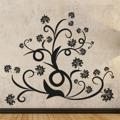 Samolepka na zeď Ornamenty z rostlin 015 (146419) - 1