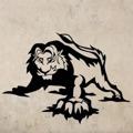 Samolepka na zeď Lev 011 (146345) - 1