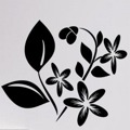 Samolepka na zeď Květiny 027 (146267) - 1