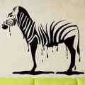 Samolepka na zeď Zebra 011 (146770) - 1