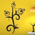 Samolepka na zeď Květiny 014 (146255) - 1