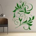 Samolepka na zeď Ornamenty z rostlin 008 (146412) - 1