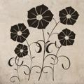 Samolepka na zeď Květiny 001 (146242) - 1