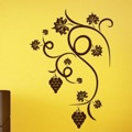 Samolepka na zeď Hroznové víno 001 (146171) - 1