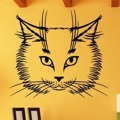 Samolepka na zeď Kočka 0473 (576262) - 1