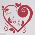 Samolepka na zeď Srdce 003 (146602) - 1