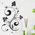 Samolepka na zeď Ornamenty z rostlin 040 (146443) - 1