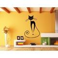 Samolepka na zeď Kočka 007 (147010) - 2