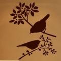 Samolepka na zeď Ptáci na větvích 001 (146507) - 1