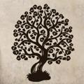 Samolepka na zeď Strom 008 (146615) - 1