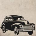 Samolepka na zeď Auto 025 (146086) - 1