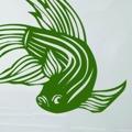 Samolepka na zeď Ryba 002 (146563) - 1