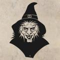 Samolepka na zeď Čarodějnice 002 (146108) - 1