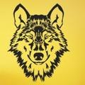 Samolepka na zeď Vlk 1411 (911566) - 1