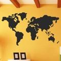 Samolepka na zeď Mapa světa 1232 (895972) - 1