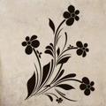 Samolepka na zeď Květiny 036 (146275) - 1