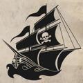 Samolepka na zeď Pirátská loď 001 (146467) - 1