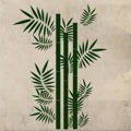 Samolepka na zeď Bambus 001 (146089) - 1