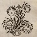 Samolepka na zeď Ornamenty z rostlin 033 (146436) - 1