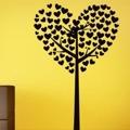 Samolepka na zeď Strom ze srdíček 0227 (572560) - 1