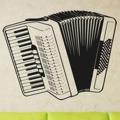 Samolepka na zeď Harmonika 001 (146156) - 1