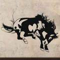 Samolepka na zeď Kůň 007 (146230) - 1