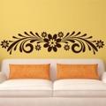 Samolepka na zeď Ornament s květinami 0179 (572513) - 1