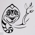 Samolepka na zeď Chameleon 004 (146178) - 1